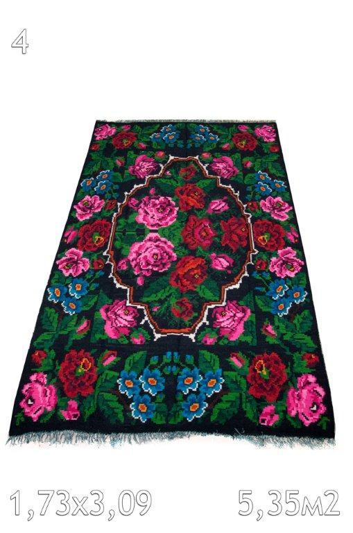 Kelim met rozen 570 (309cm x 173cm)