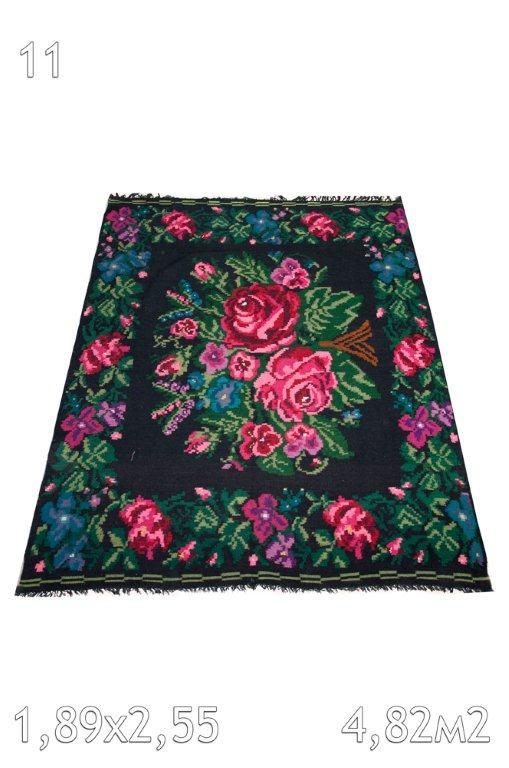 Kelim met rozen 572 (253cm x 189cm)