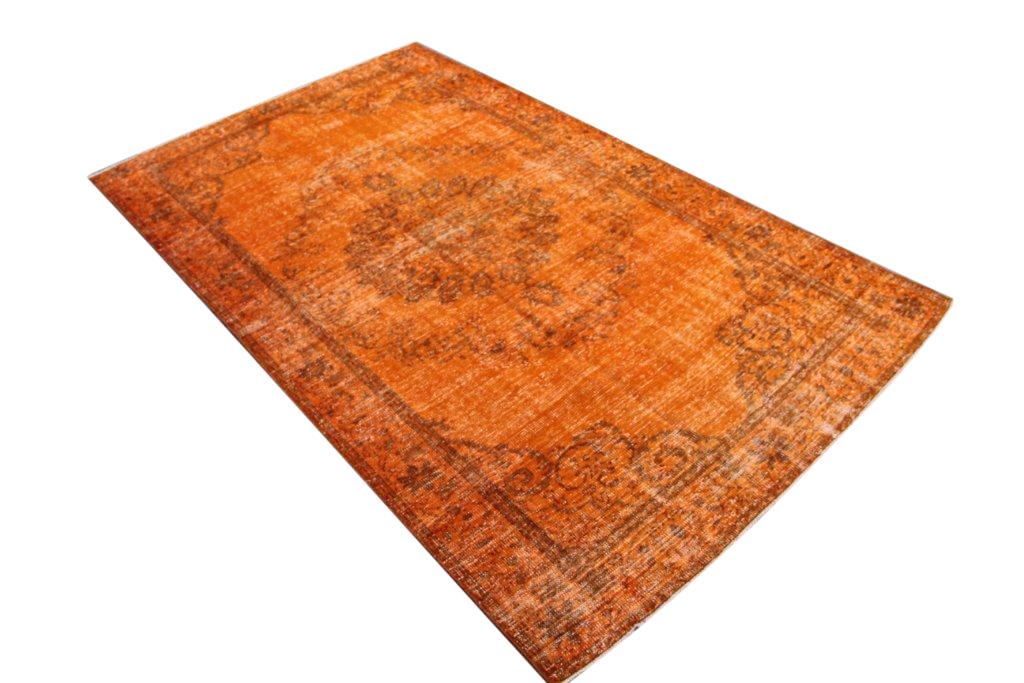 Oranje vloerkleed no 582 (310cm x 185cm)