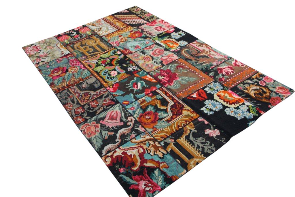 Kelim patchwork  6112D (300cm x 204cm) vintage patchwork