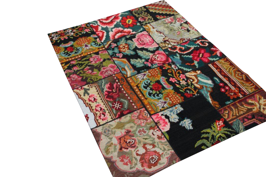 Kelim patchwork  6113D (206cm x 153cm)