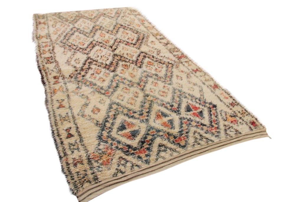 Beni ouarain vloerkleed uit Marokko
