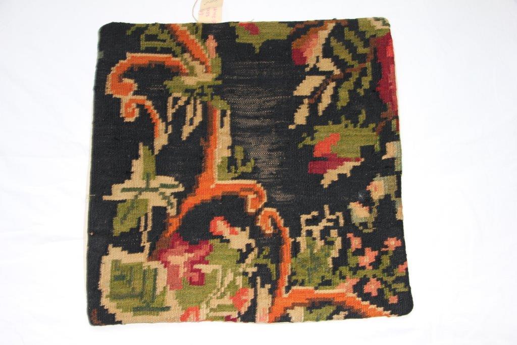 UITVERKOOP: Kelim kussen  50cm x 50cm, handgeweven uit Moldavië, no 653 (zonder binnen kussen)