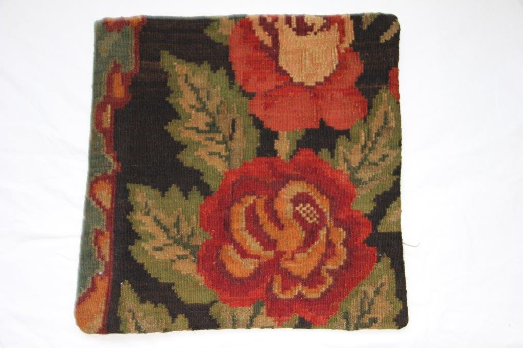 UITVERKOOP: Kelim kussen  50cm x 50cm, handgeweven uit Moldavië, no 659 (zonder binnen kussen)