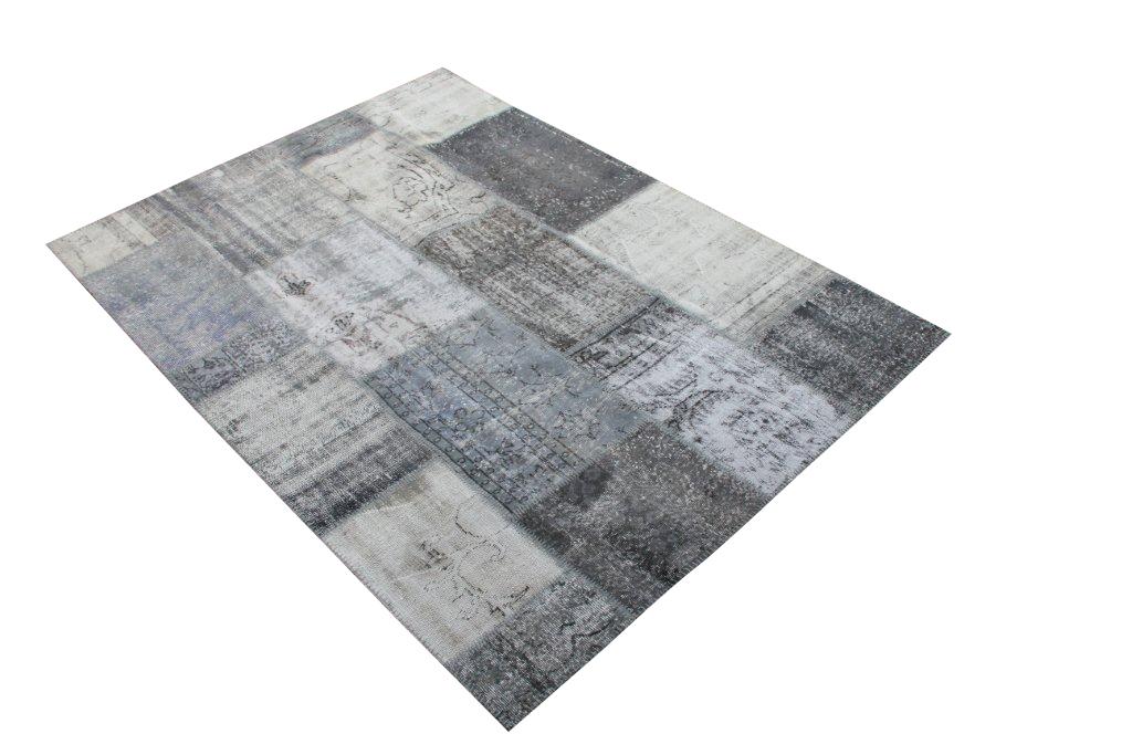 Vintage patchwork vloerkleed 664 (248cm x 180cm) VERKOCHT!