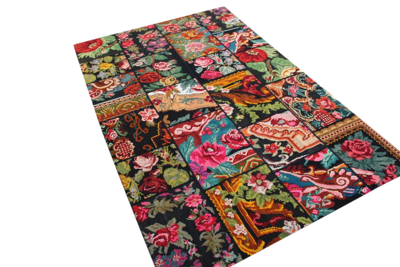 Kelim patchwork  6834 (301cm x 201cm)