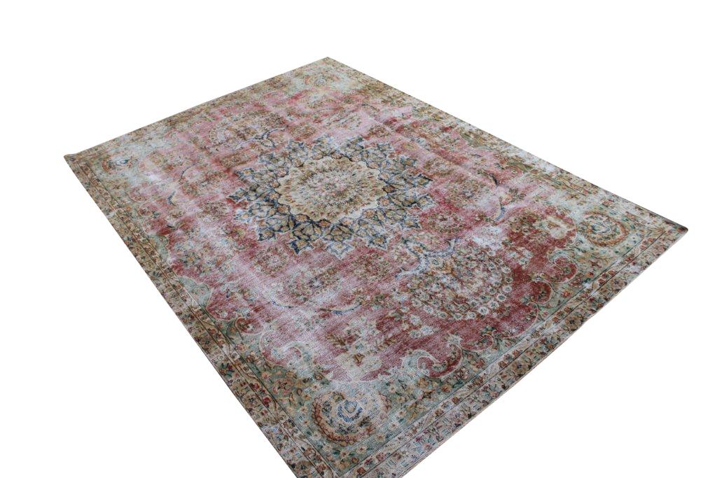 Recoloured perzisch tapijt 708 (316cm x 226cm)