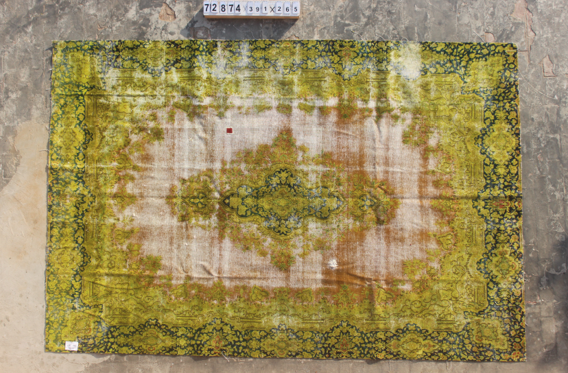 30 tot 80 jaar oud vloerkleed  (geschoren en gewassen) 391cm x 265cm, no 72874 Leverbaar vanaf 25 februari, nu bestelbaar