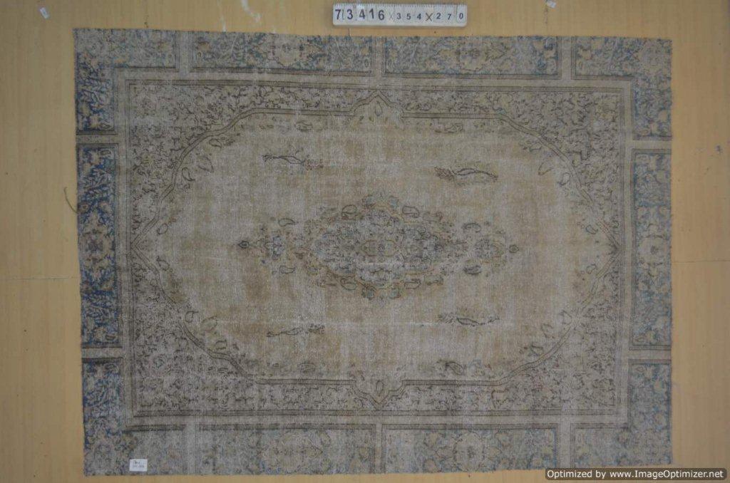 30 tot 80 jaar oud vloerkleed  (geschoren en gewassen) 354cm x 270cm, no 73416 Leverbaar vanaf 10 februari, nu bestelbaar