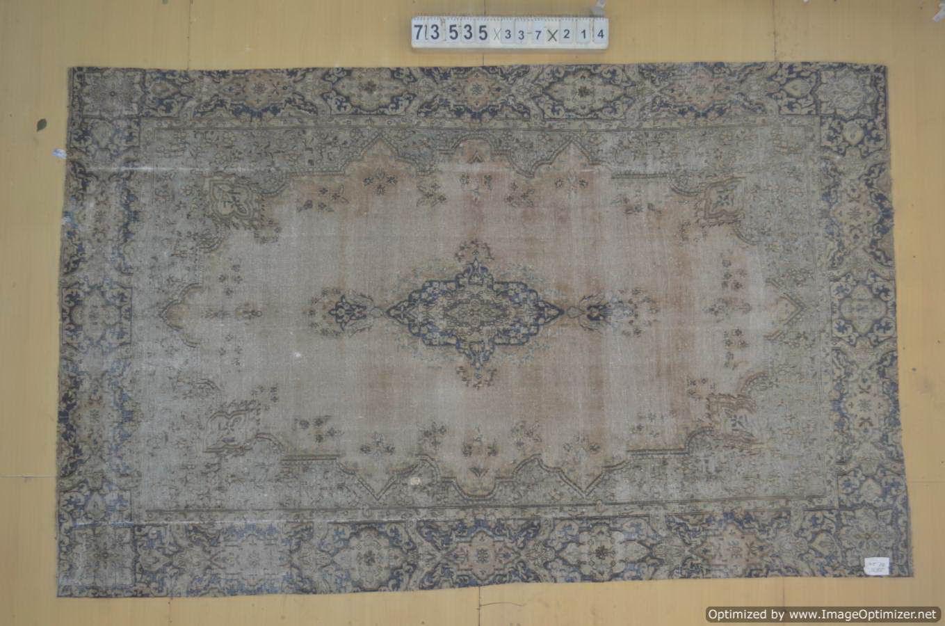 30 tot 80 jaar oud vloerkleed (geschoren en gewassen) 337cm x 214cm, no 73535 Leverbaar vanaf 10 februari, nu bestelbaar