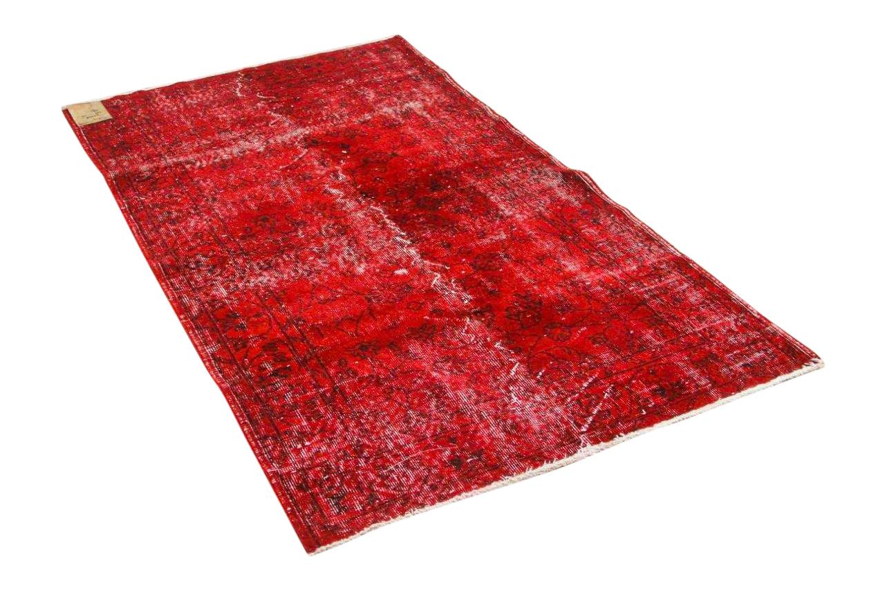 Vintage vloerkleed rood 75028 205cm x 115cm
