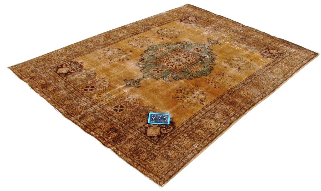 Recoloured klassiek vloerkleed nr 873 (378 cm x 292 cm) Verkocht!