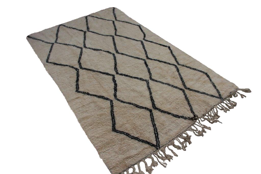 Berber vloerkleed uit Marokko no 999 300cm x 180cm