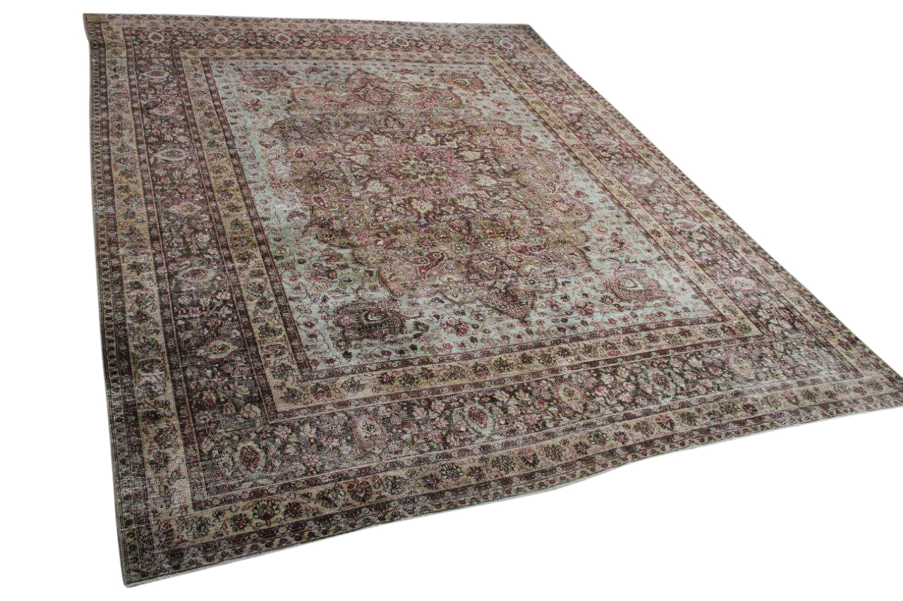 Antiek perzisch Meshed vloerkleed nr.10307 390cm x 312cm