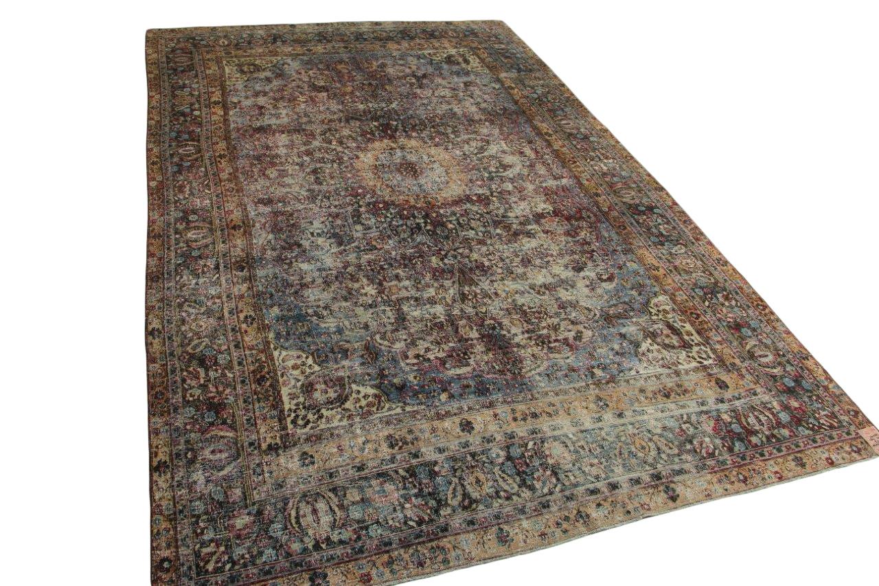 Antiek meshmed vloerkleed 460cm x 300cm nr10585