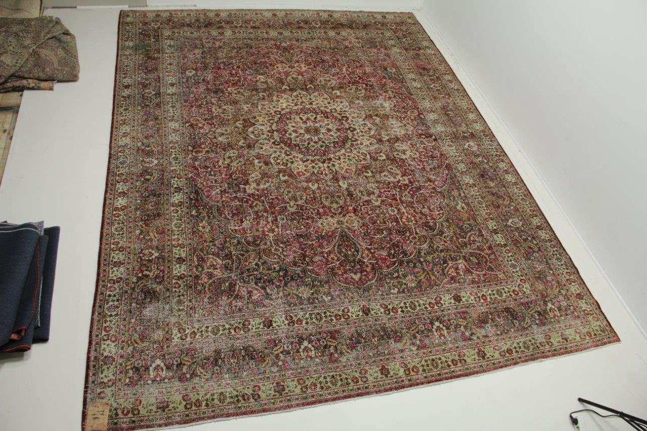 Antiek Meshed tapijt