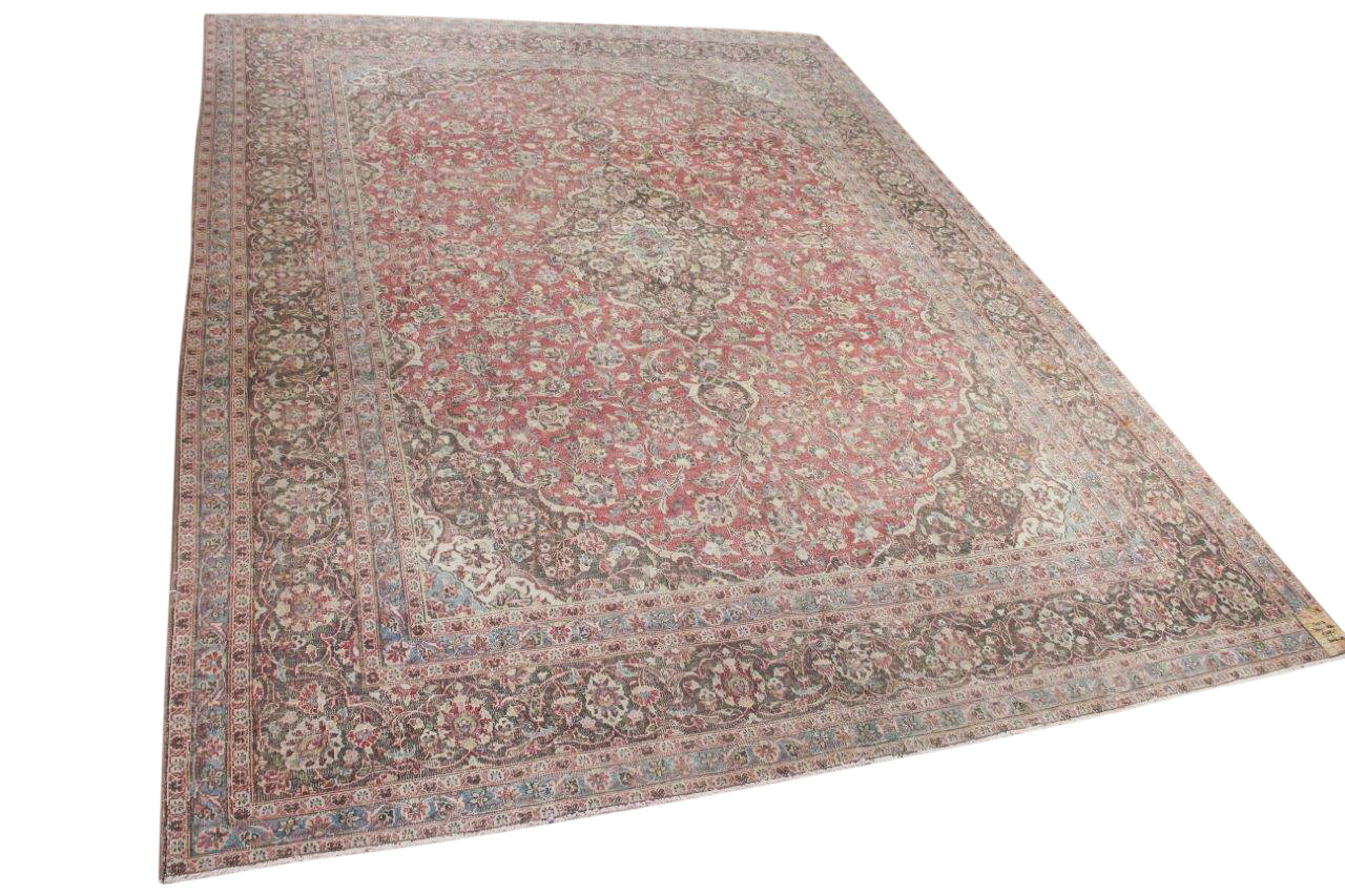 Antiek perzisch vloerkleed nr.17017 394cm x 284cm