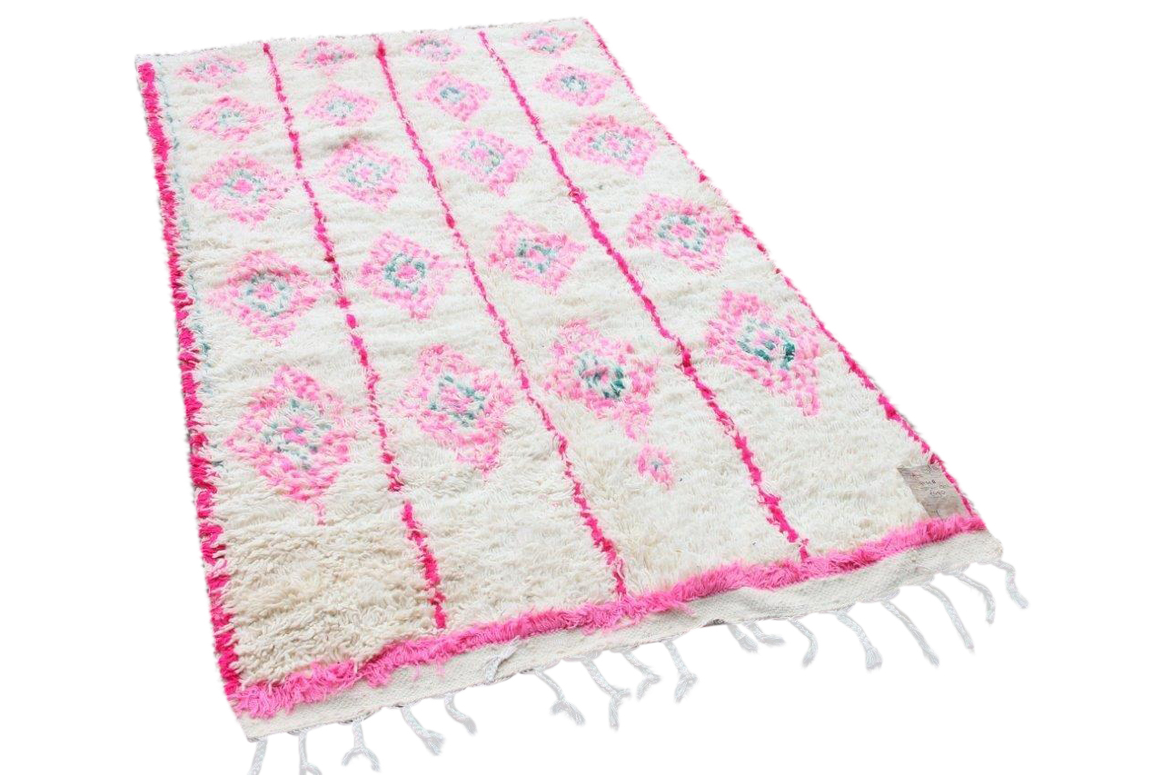 Afbeelding van Azilal vloerkleed 91328 250cm x 150cm hoogpolig vloerkleed uit Marokko