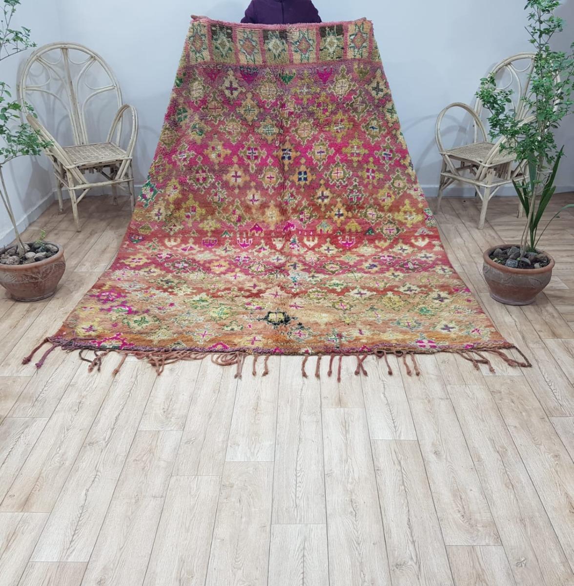 Beni mguild vloerkleed uit Marokko 61012 van 250cm x 190cm