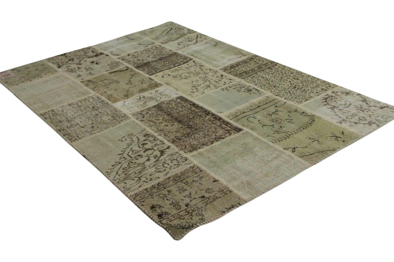 patchwork vloerkled beige 240cm x 170cm 8185