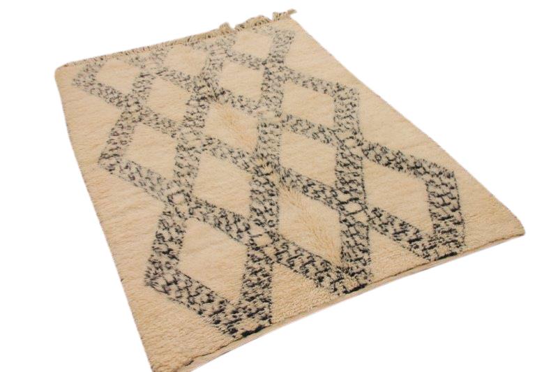 Beni Ouarain vloerkleed uit Marokko 294cm x 176cm (nr 450)