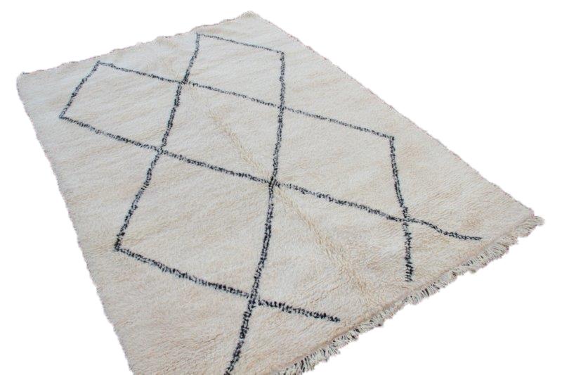 Beni Ouarain vloerkleed uit Marokko 290cm x 212cm (nr 539)