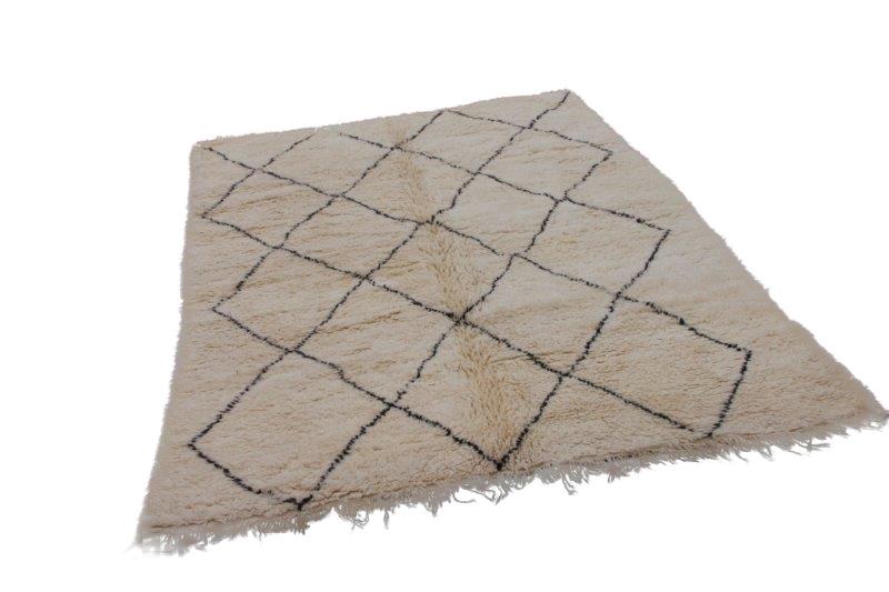 Beni Ouarain vloerkleed uit Marokko 290cm x 210cm (nr 4194)