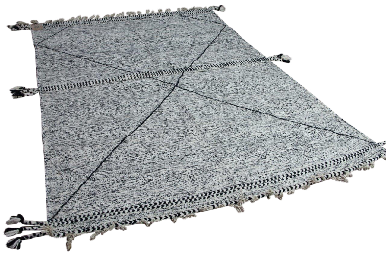 Beni ouarain vloerkleed platgeweven (geen hoge pool)  287cm x  195cm