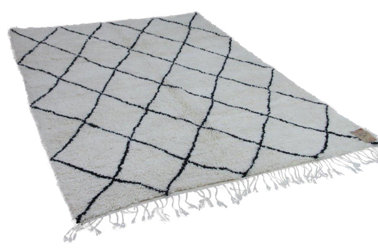 Beni ouarain hoogpolig vloerkleed uit Marokko 17540 295cm x 203cm