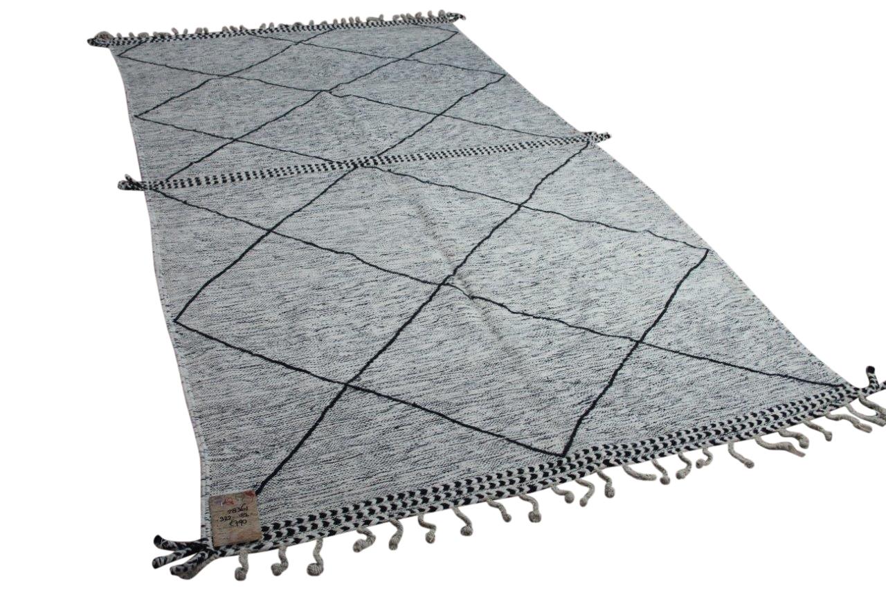 Beni ouarain vloerkleed platgeweven (geen hoge pool)  322cm x  182cm