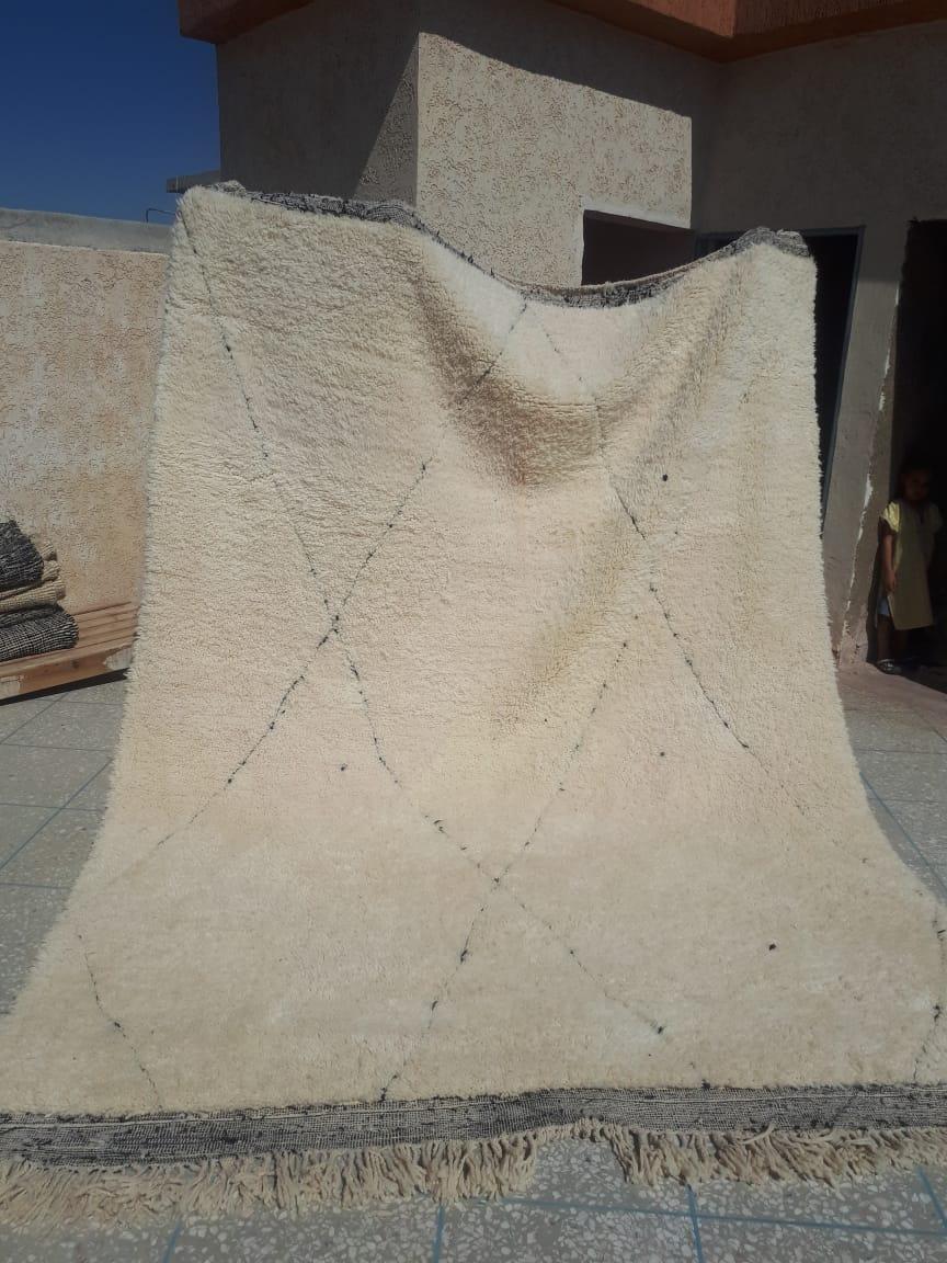 Beni ouarain vloerkleed 96550 300cm x 250cm
