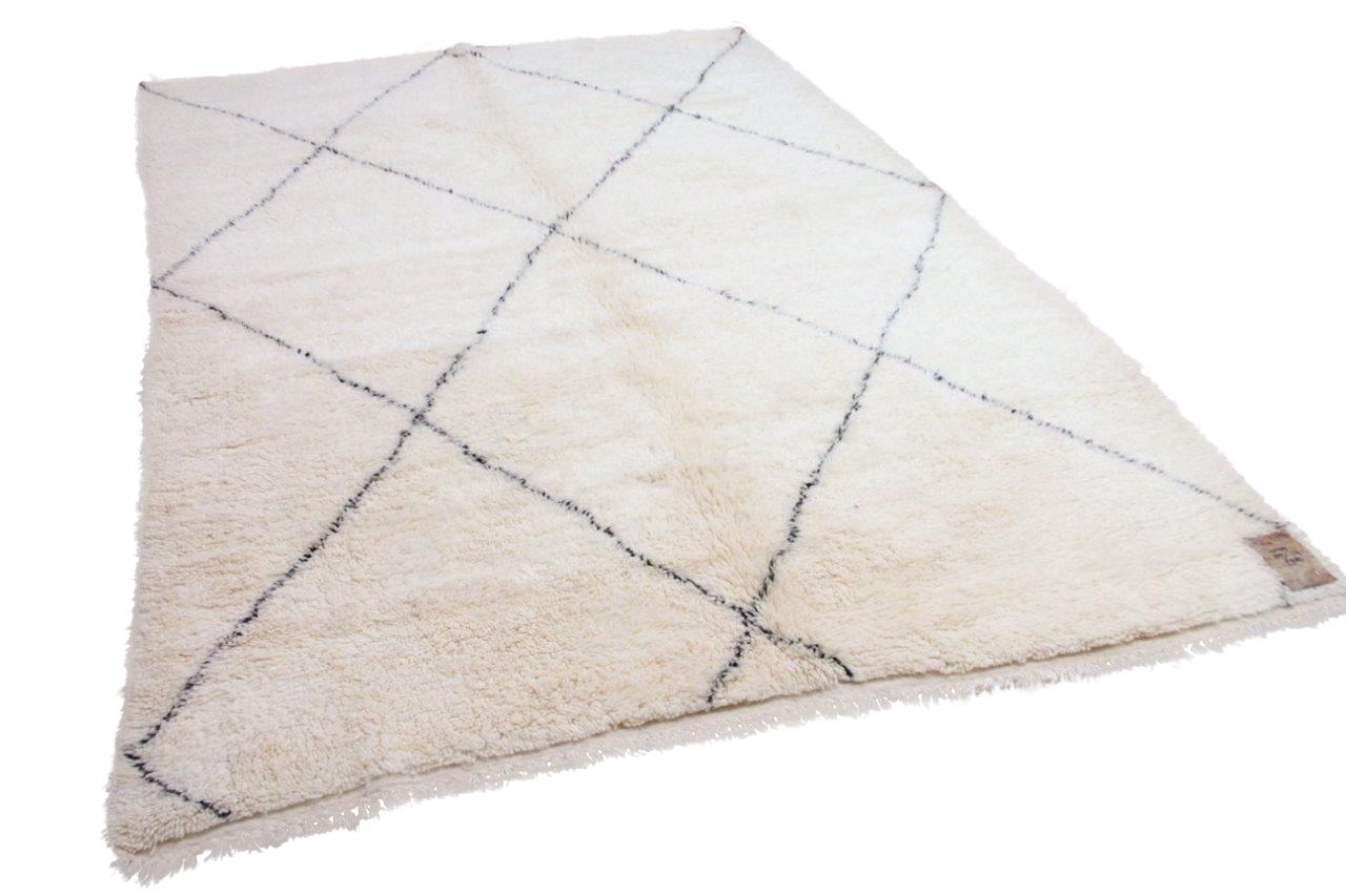 Beni ouarain hoogpolig vloerkleed uit Marokko 41409 309cm x 219cm
