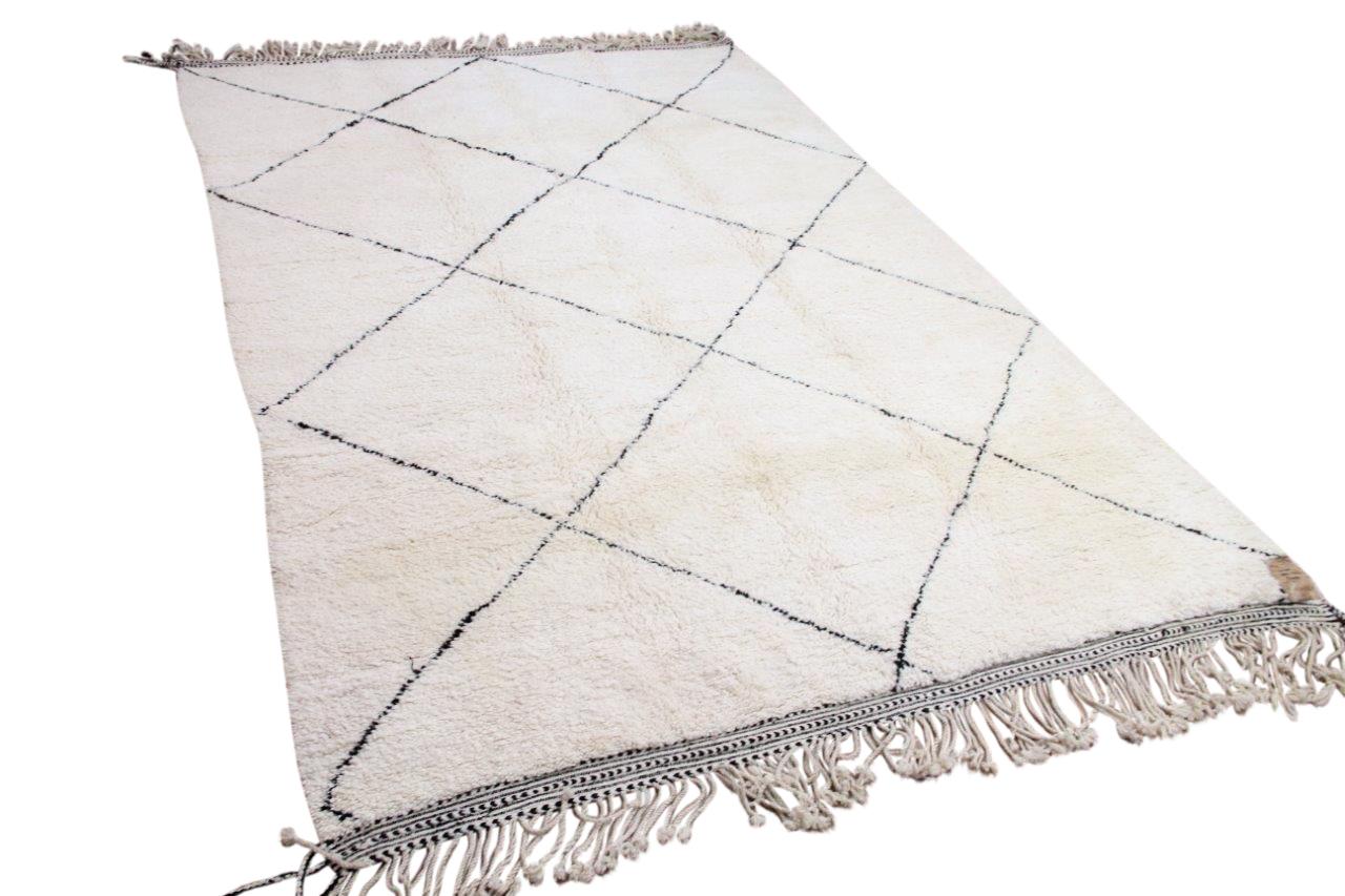 Beni ouarain hoogpolig vloerkleed uit Marokko 41430 350cm x 245cm