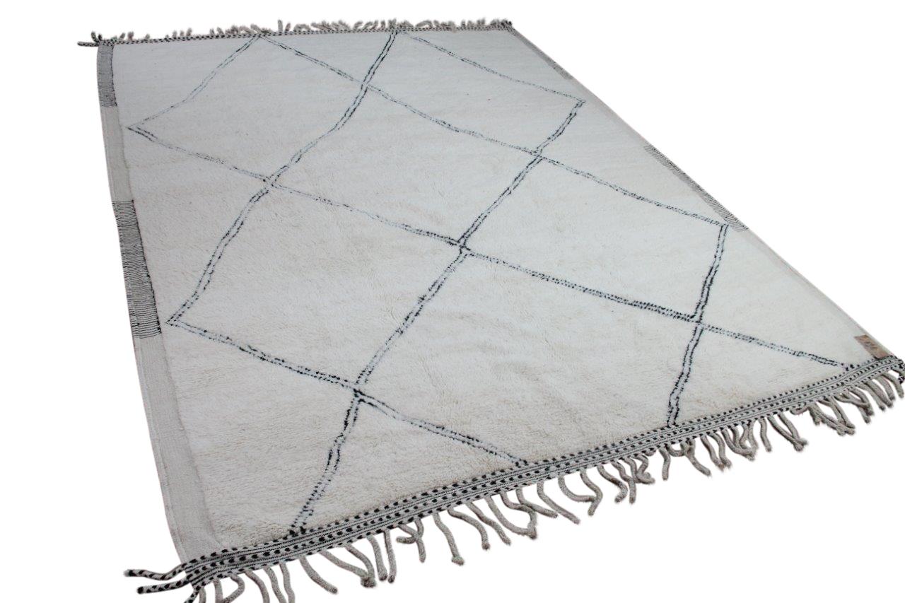 Beni ouarain 51602 397cm x 290cm hoogpolig vloerkleed