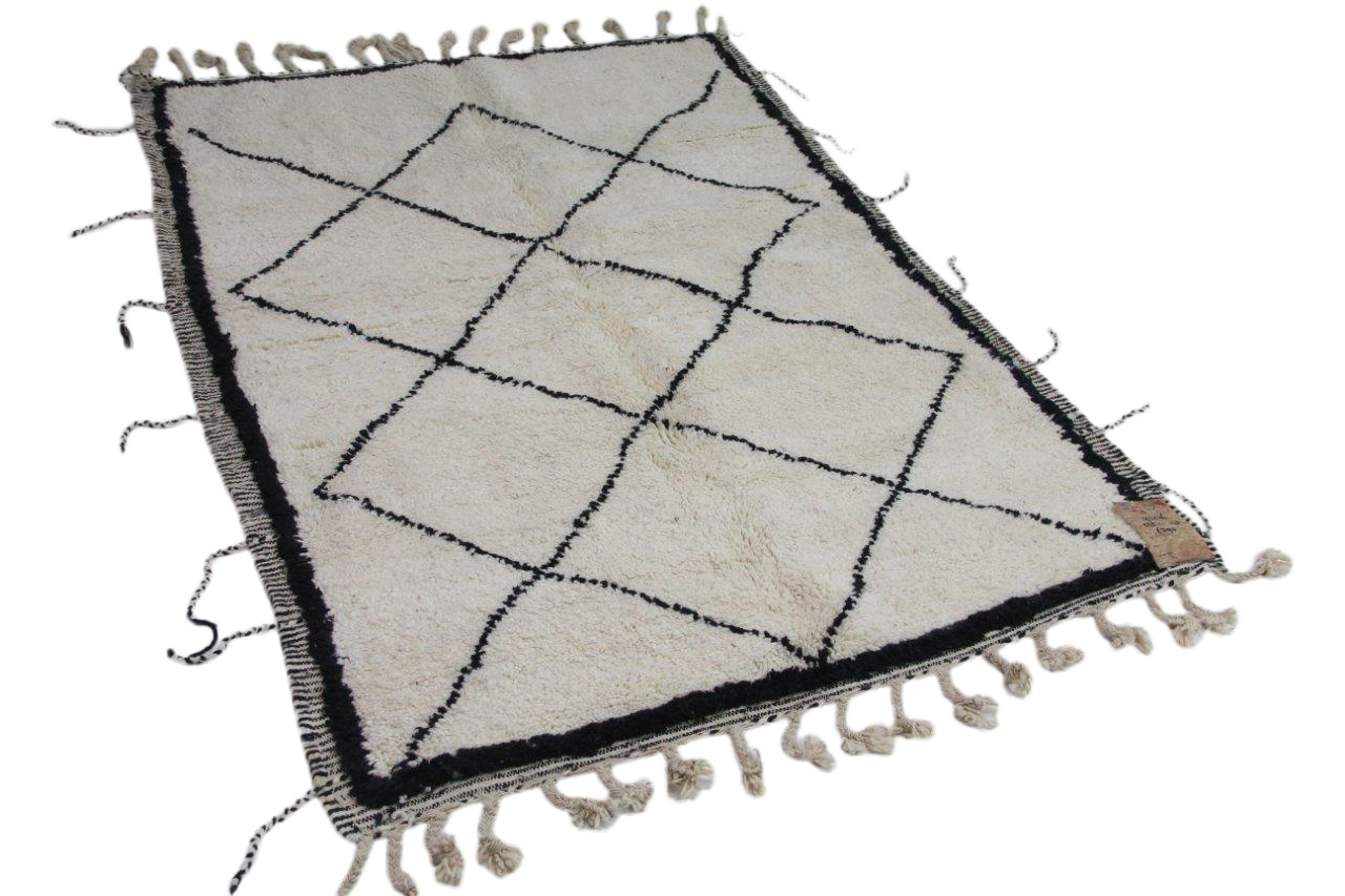 klein beni ouarain vloerkleed 225cm x 143cm