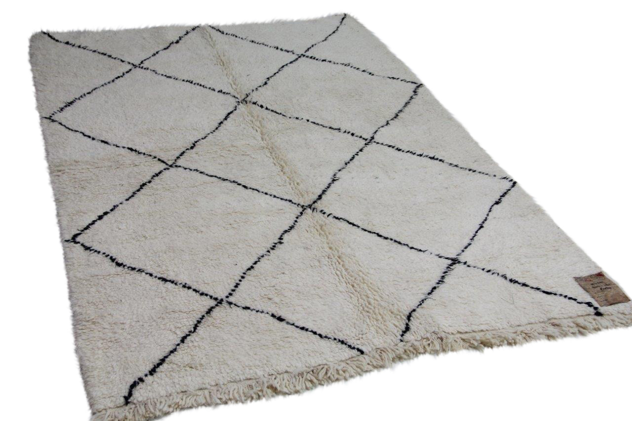 Beni ouarain vloerkleed uit Marokko 93292