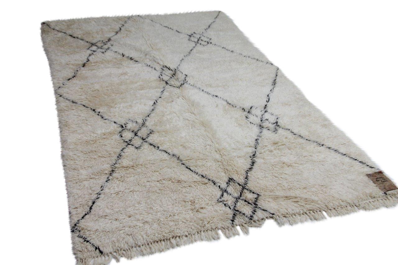 Berber vloerkleed uit Marokko 265cm x 172cm