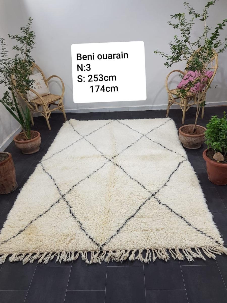 Beni ouarain uit Marokko 253cm x 174cm