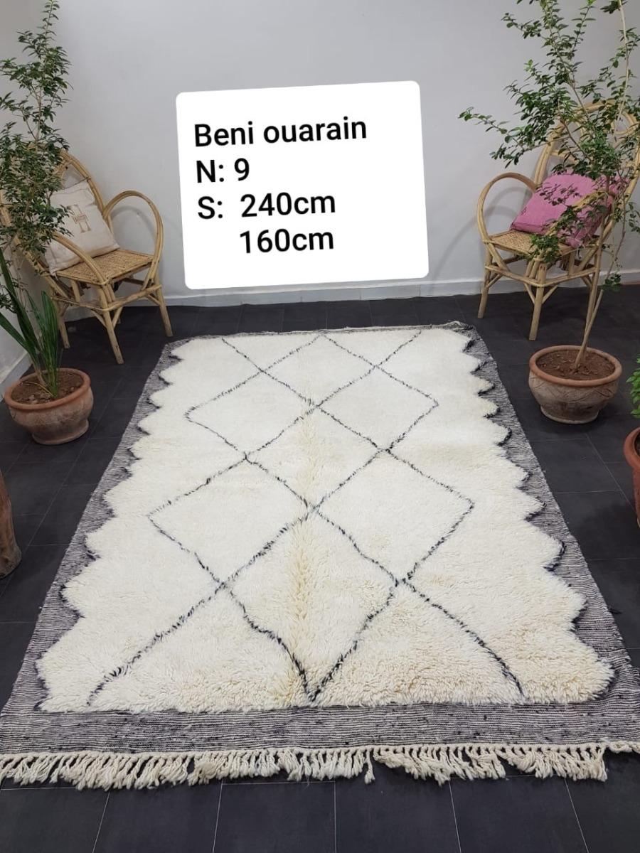 Beni ouarain uit Marokko 240cm x 160cm (dit kleed wordt rond 10 november binnen verwacht)