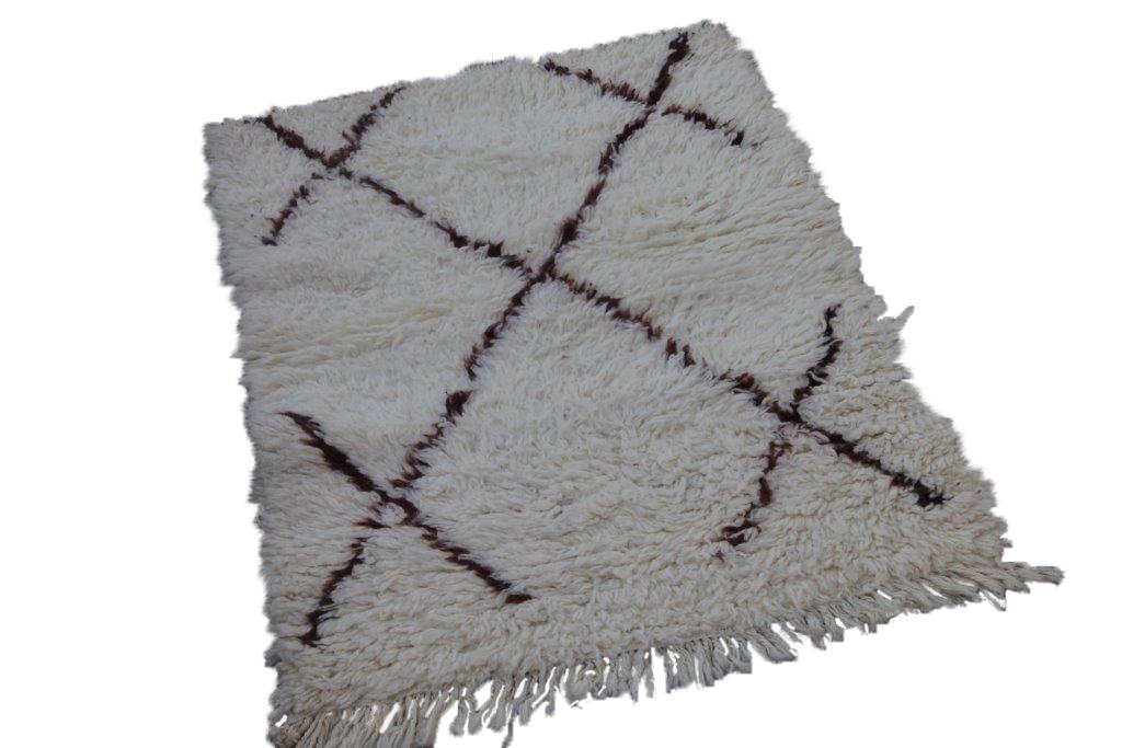 Beni Ouarain vloerkleed uit Marokko no 0050 (112cm x 90cm)