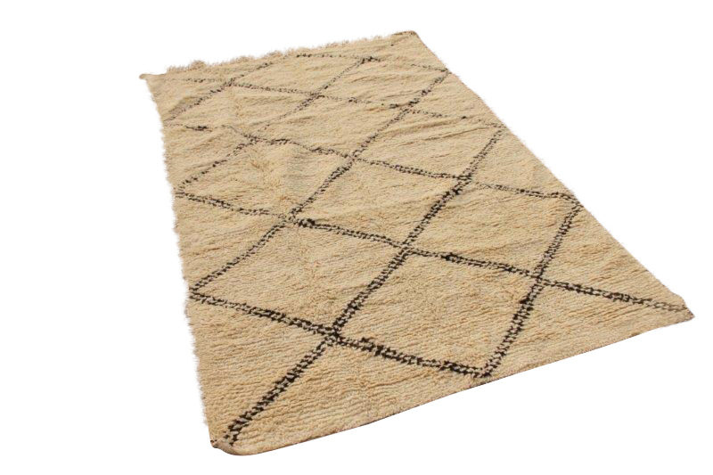 Beni Ouarain vloerkleed uit Marokko 277cm x 177cm (nr 4041)