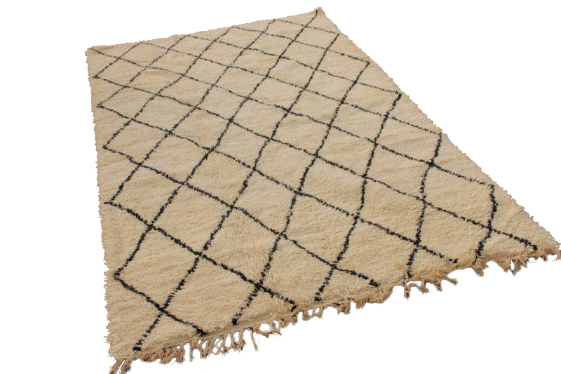 Berber vloerkleed, 320cm x 206cm