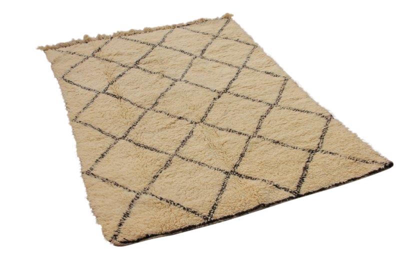 Beni Ouarain vloerkleed uit Marokko 230cm x 163cm (nr 4072)