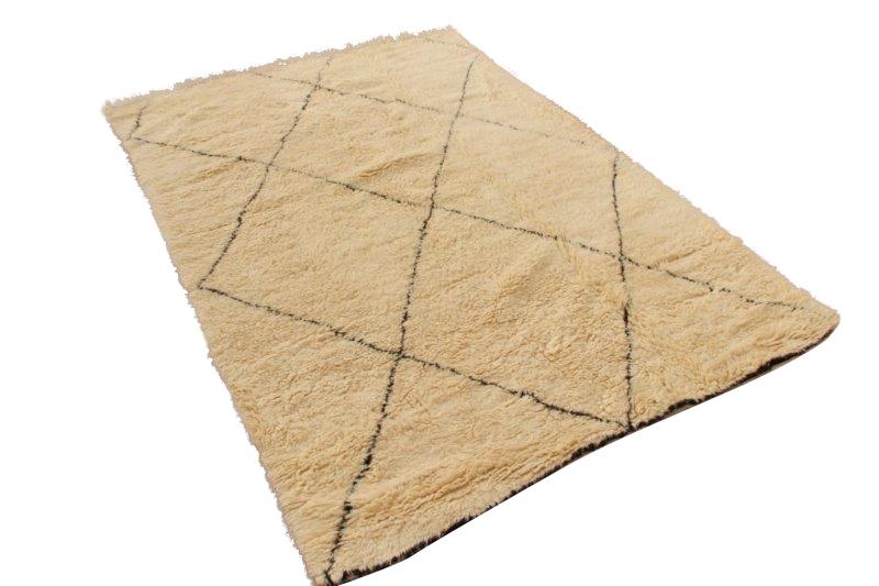 Beni Ouarain vloerkleed uit Marokko 294cm x 206cm (nr 4126)