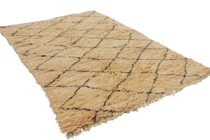 Beni Ouarain vloerkleed uit Marokko 306cm x 227cm (nr 4130)
