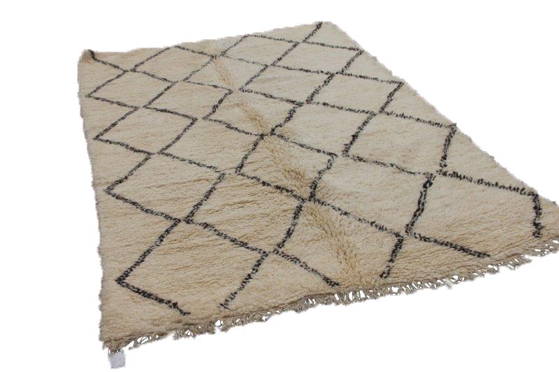 Beni Ouarain vloerkleed uit Marokko 314cm x 218cm (nr 4319)