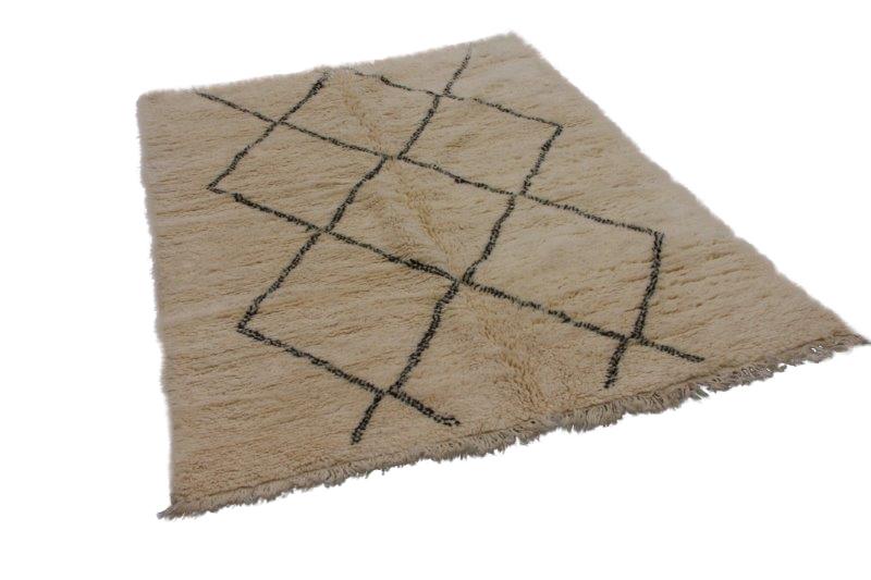 Beni Ouarain vloerkleed uit Marokko 277cm x 197cm (nr 4192)