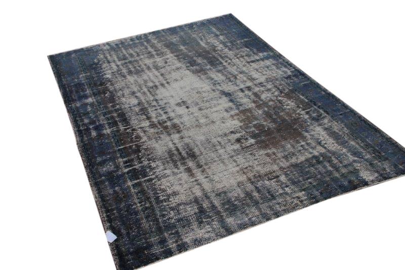 Blauw vintage vloerkleed 277cm x 192cm  (nr1626)