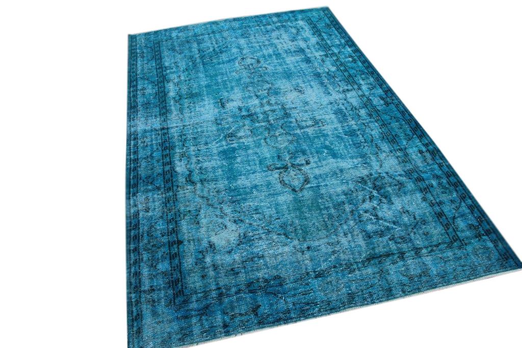 Blauw vintage vloerkleed 300cm x 188cm  (nr4881)