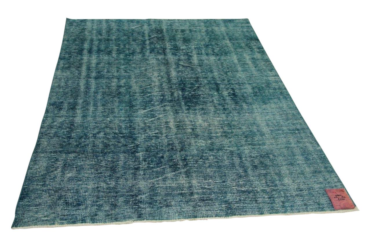 Blauw vloerkleed 216cm x 163cm nr11802